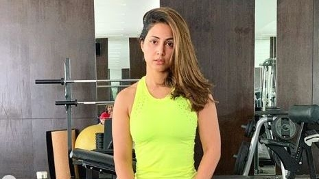 Actor Hina Khan Is Giving Us Major Fitness Goals