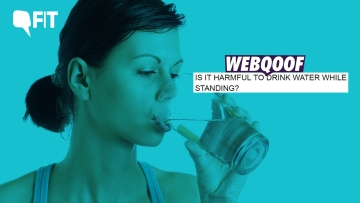 Is there a right way to drink water?