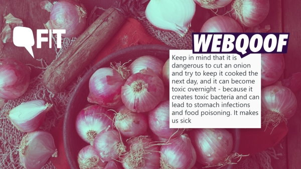 Can cut onions left overnight lead to food poisoning? FIT Webqoof finds out.