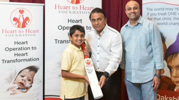 Sunil Gavaskar 'bats for life' in the US