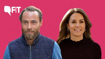 James Middleton and Kate Middleton