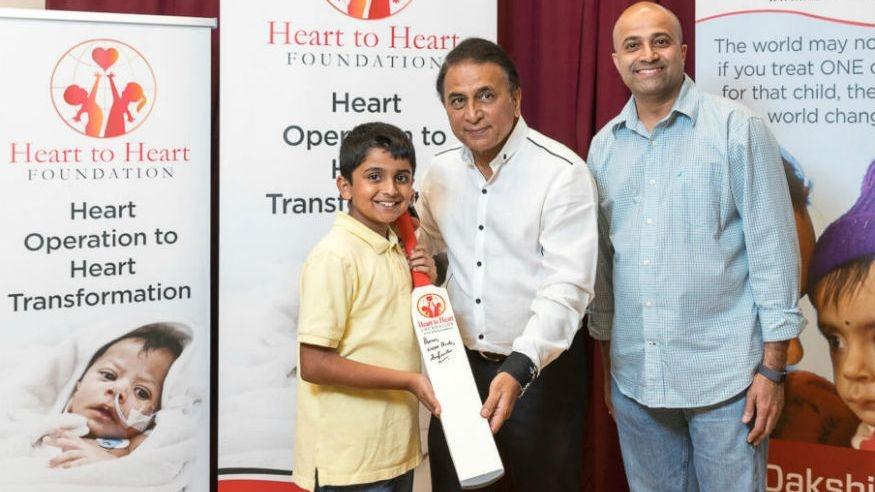 Sunil Gavaskar Raises Funds For 600 Kids' Heart Surgeries in US