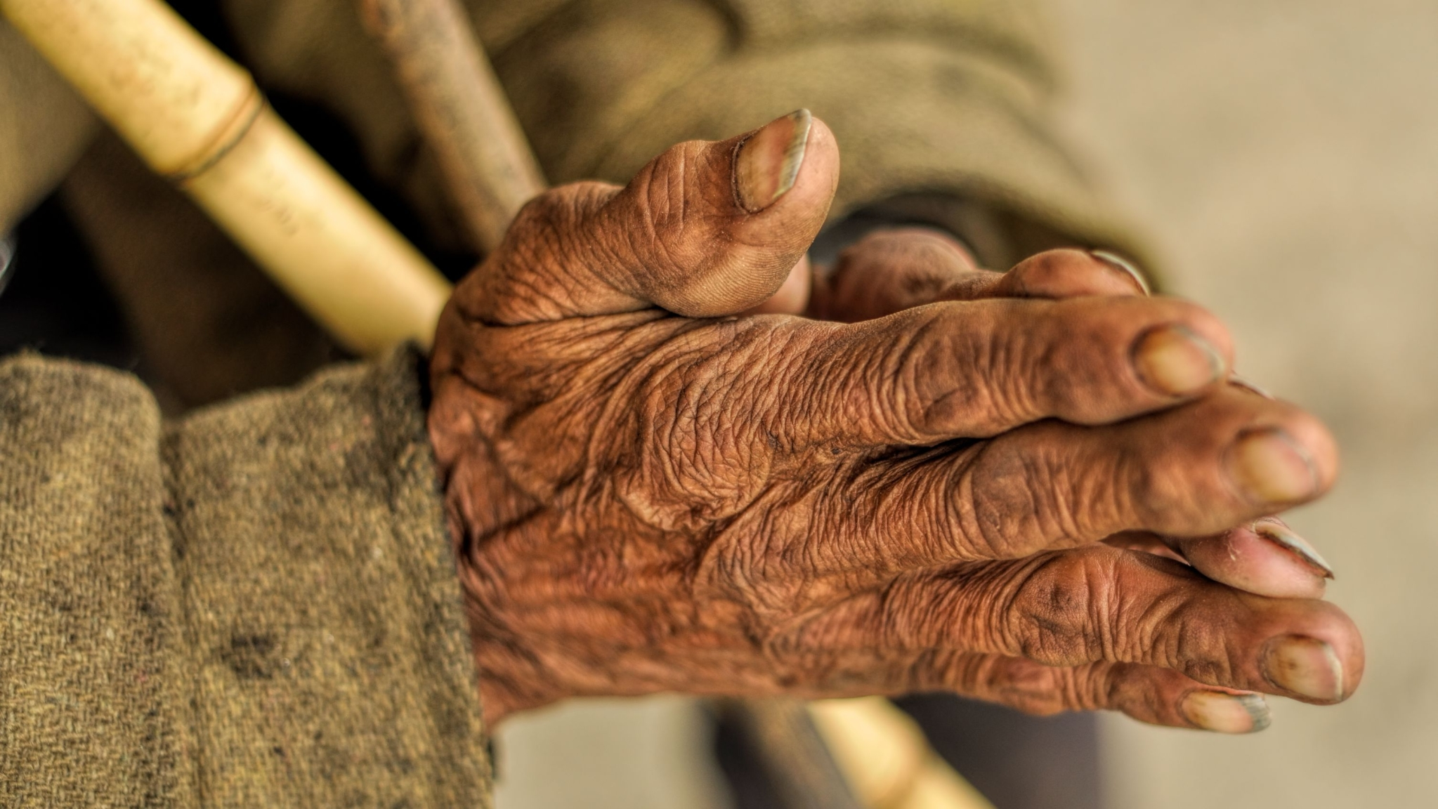 Ageing Process Gets Accelerated Due to Poverty