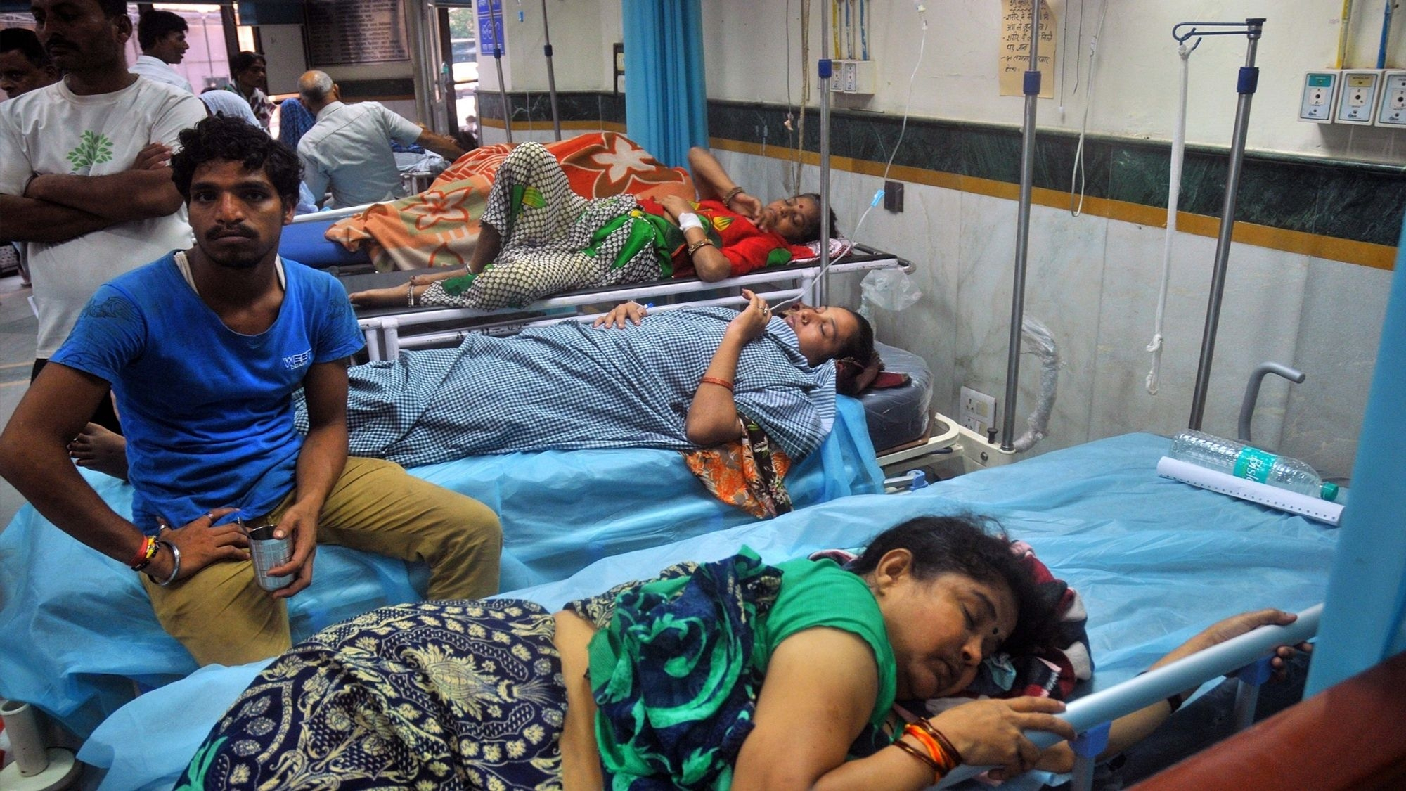 A Spike in Dengue Cases in UP, Principal Secy Infected
