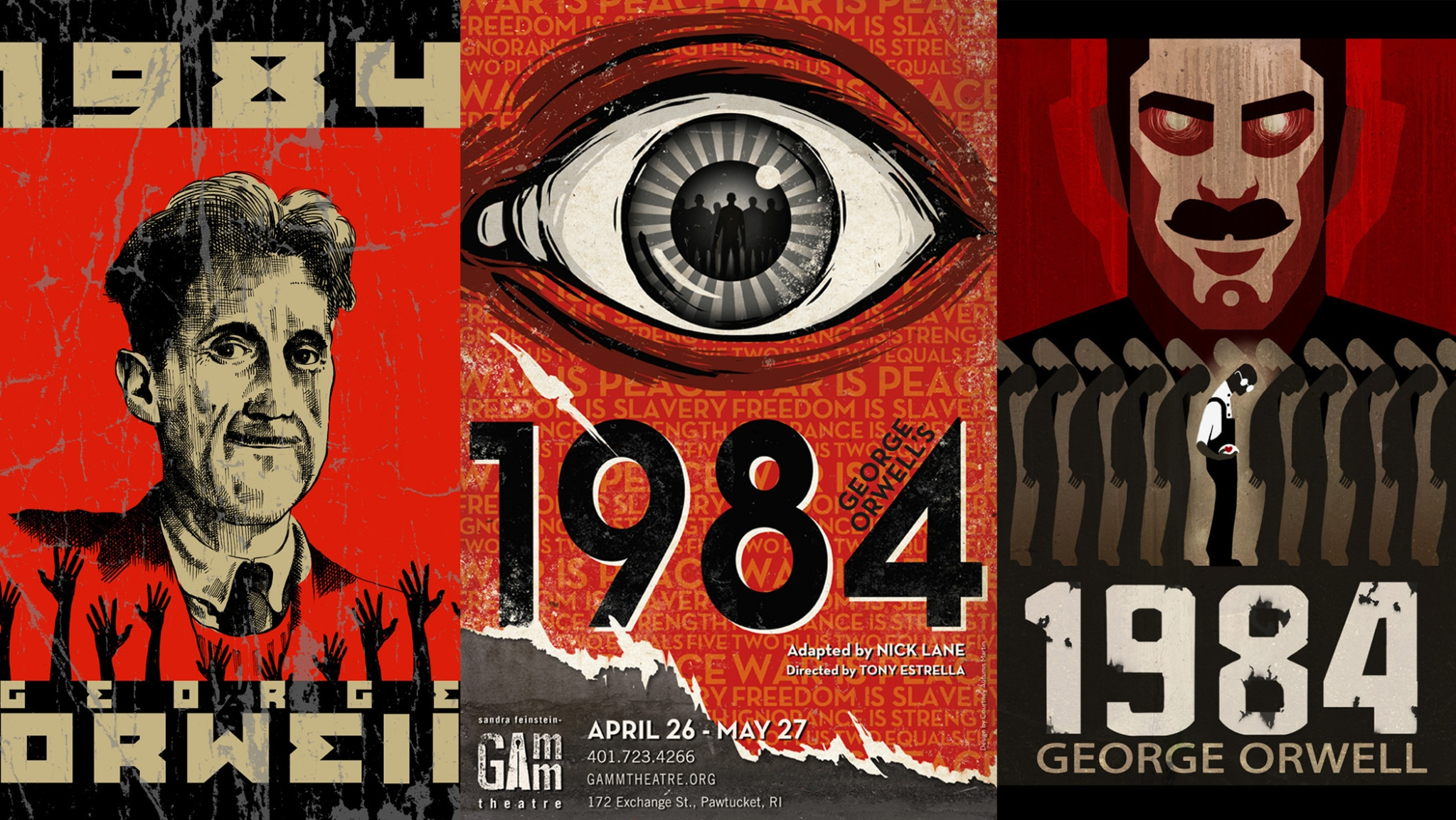 a comparison of zamyatins we and orwells 1984 in repressive government We and 1984: a study in conflicts  similarities of such works can be found in zamyatin's we and orwell's 1984 for example, both novels contain a repressive.