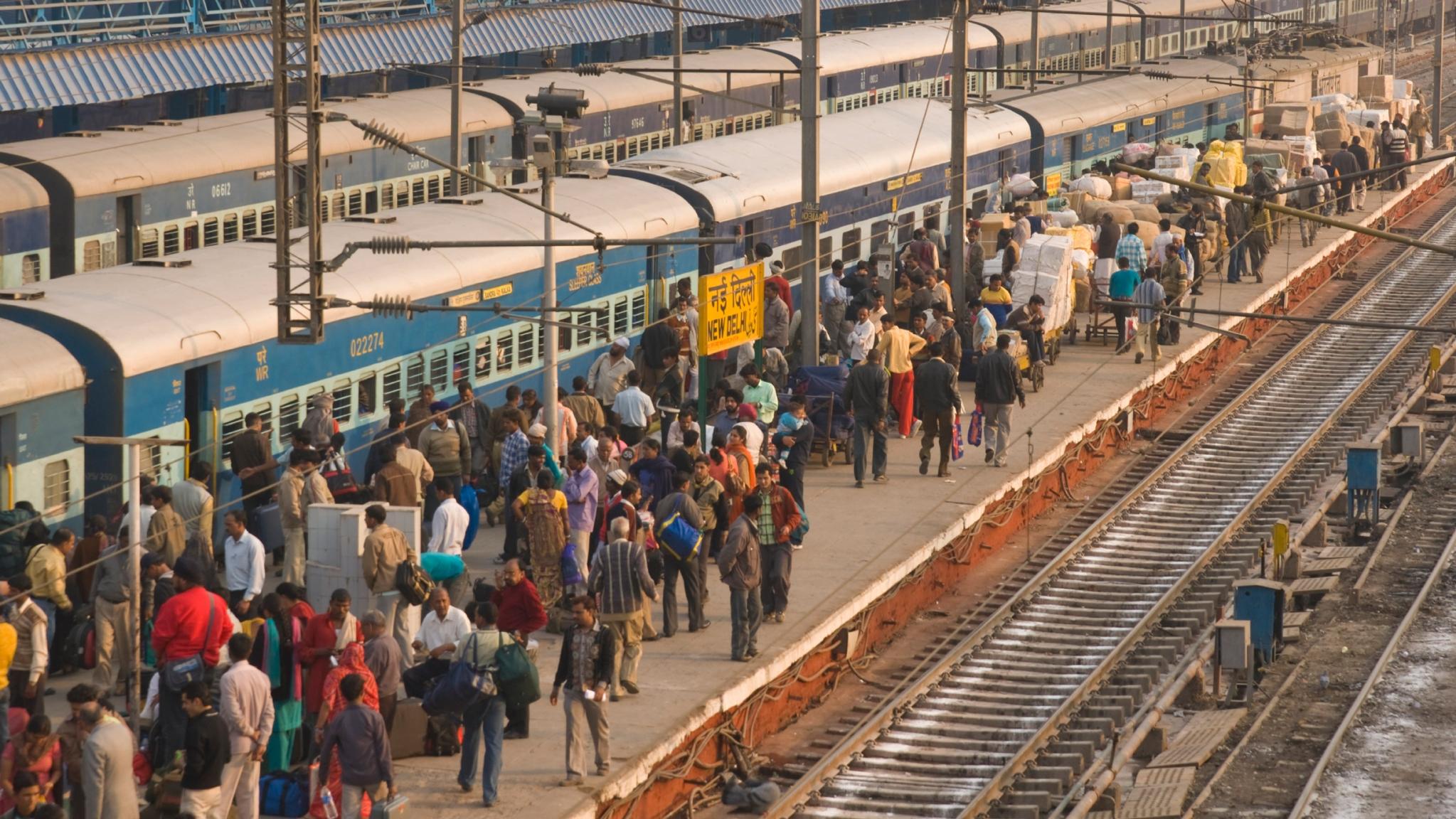 railway station essay