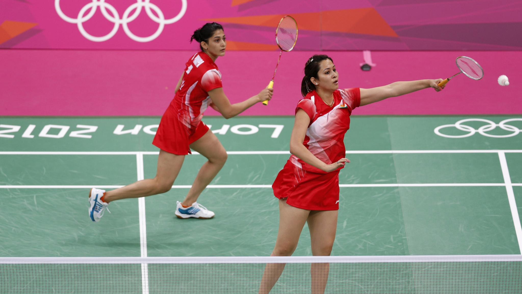 Gutta and Ponnappa Knocked Out of World Badminton Championships
