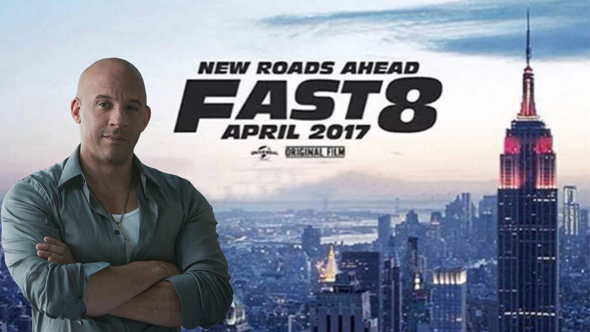ready for another fast furious vin diesel reveals fast 8 poster the quint. Black Bedroom Furniture Sets. Home Design Ideas