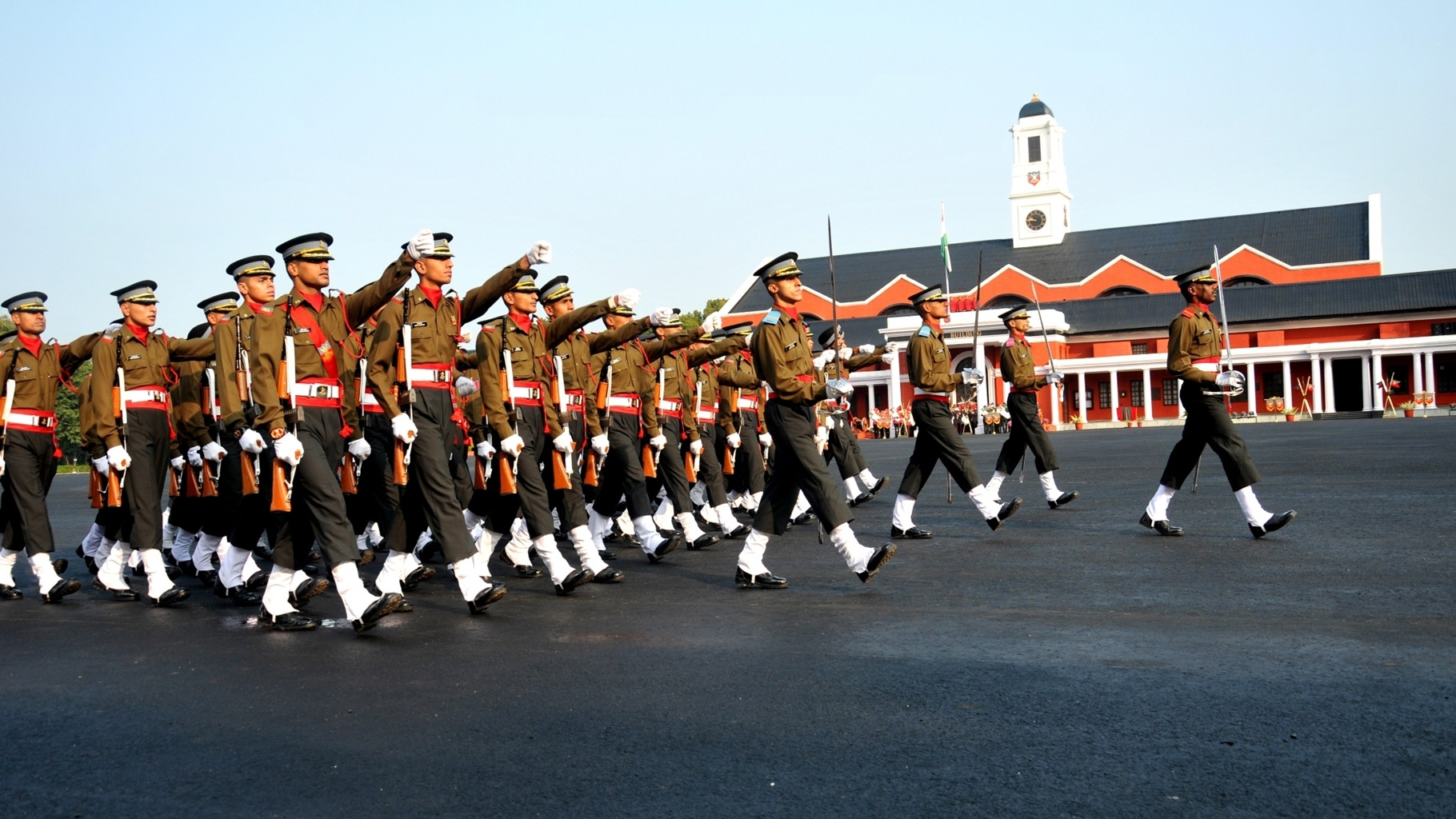 indian military academy demotes 16 cadets for