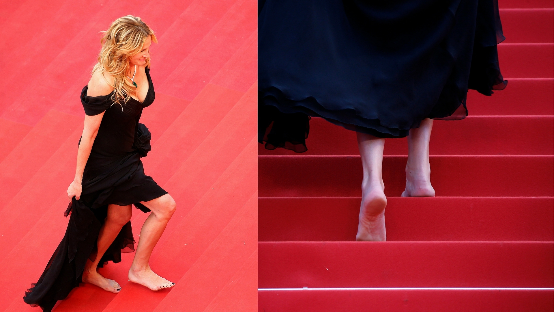Julia Roberts Walks All Over Cannes' Red Carpet Rules