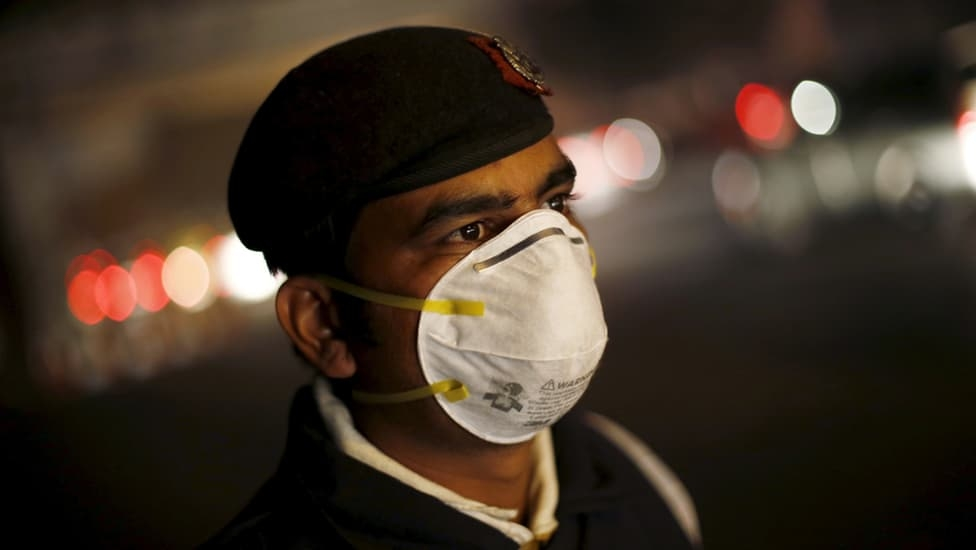 Gasping India Diwali After For 1-11-2019 Air Days Index Aqi 5