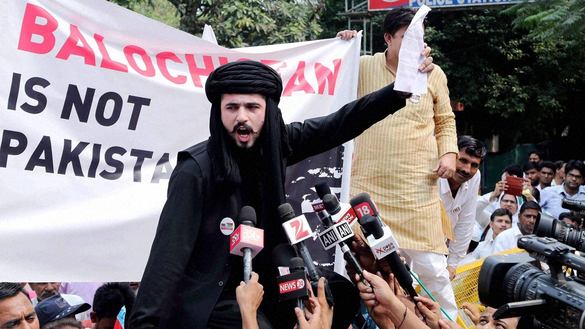 baloch leader seeks india - HD2000×1125