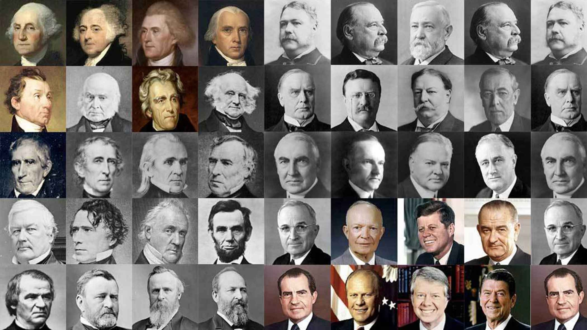 Remembering All the 44 US Presidents So Far Before the Big ...