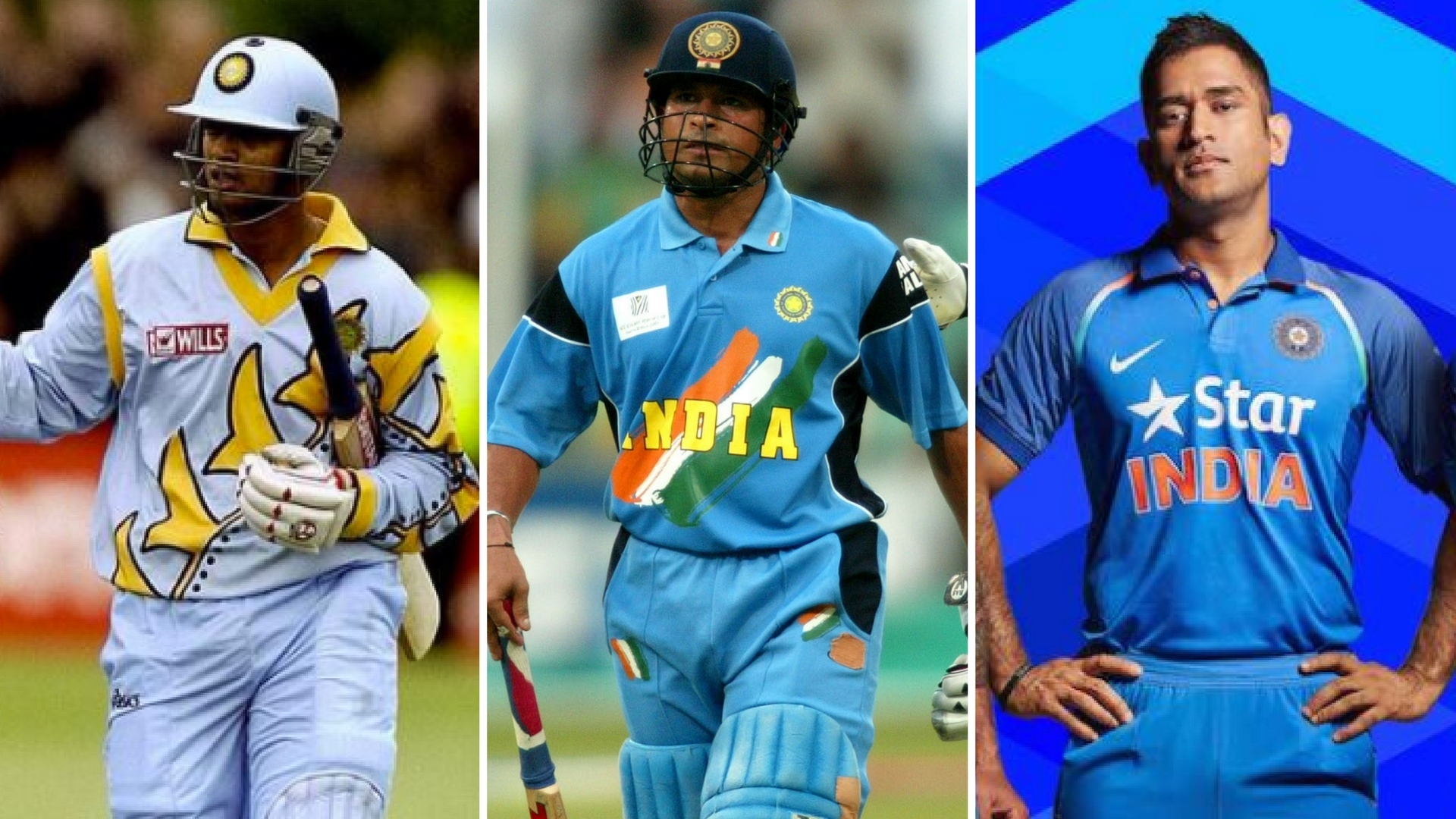Photos Environment Friendly Jerseys For Team India: In Pictures: Evolution Of India's Cricket Jersey From 1985
