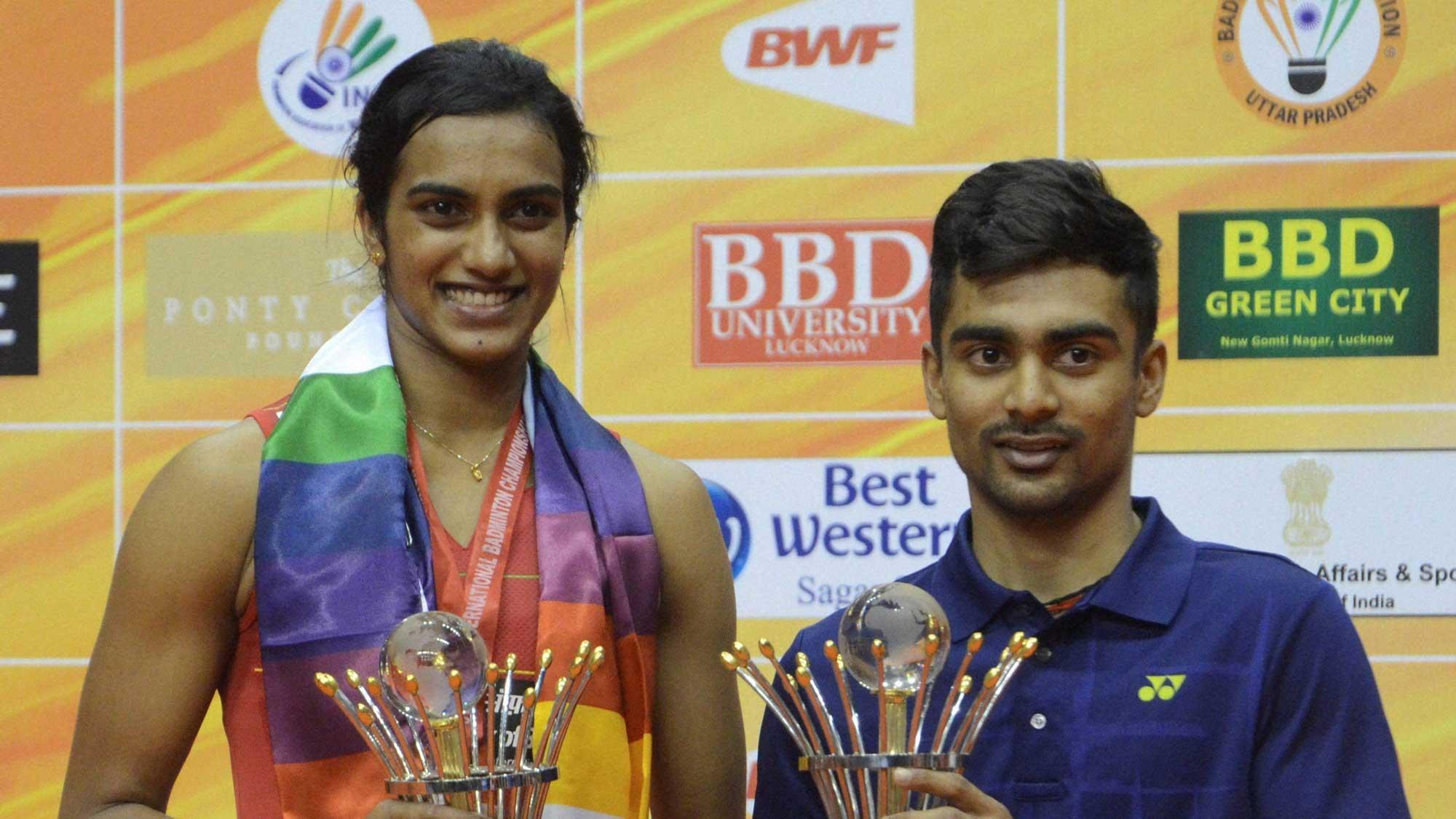 PV Sindhu Sameer Verma Bag Titles at Syed Modi Grand Prix Gold