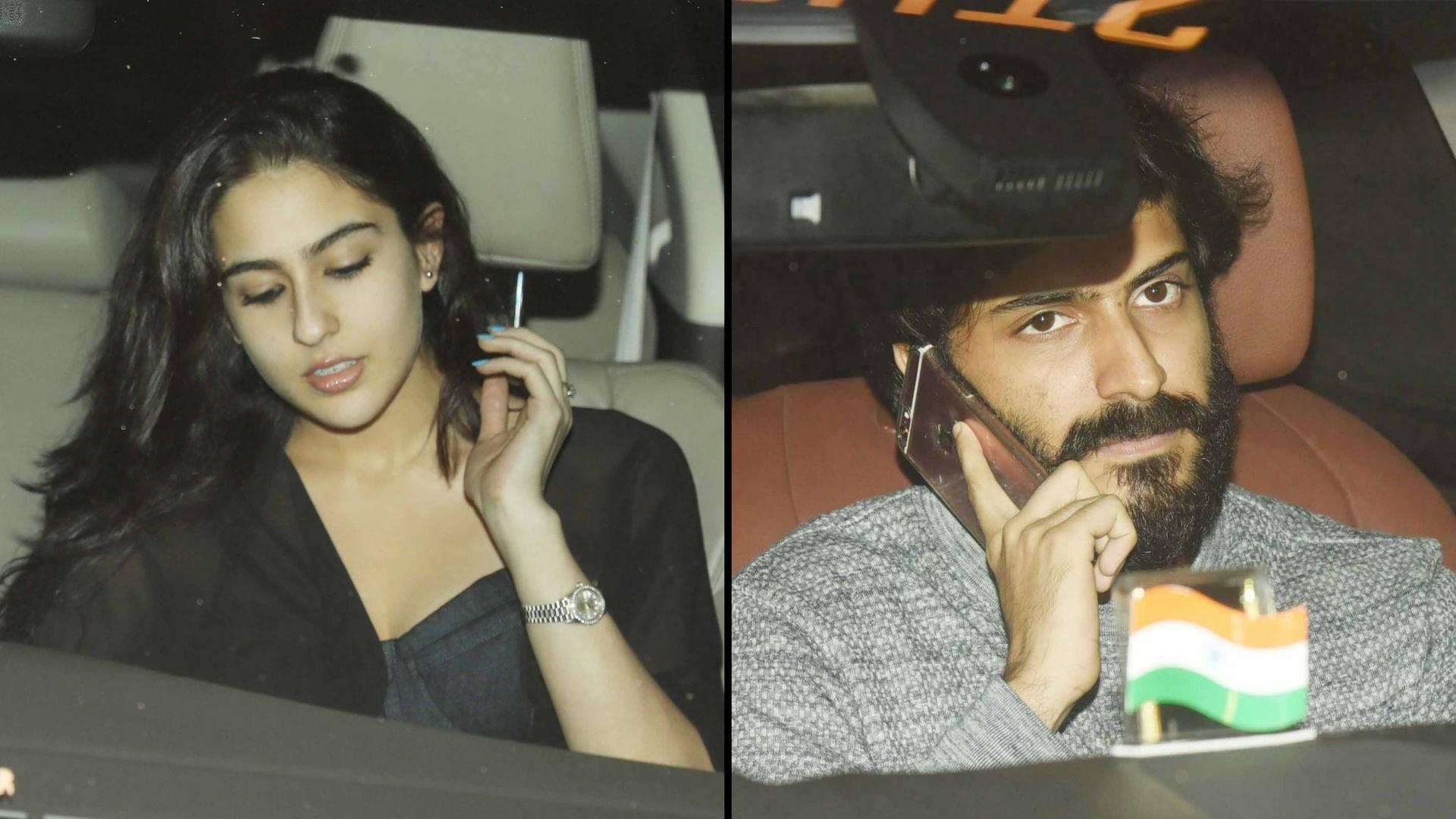Image result for Sara Ali Khan and Harshvardhan Kapoor