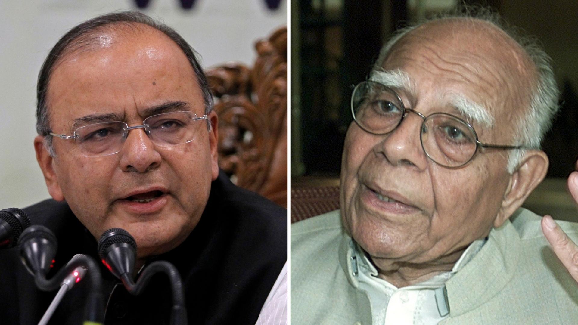 Bypolls to Rajya Sabha Seats Held by Jaitley, Jethmalani on 16 Oct