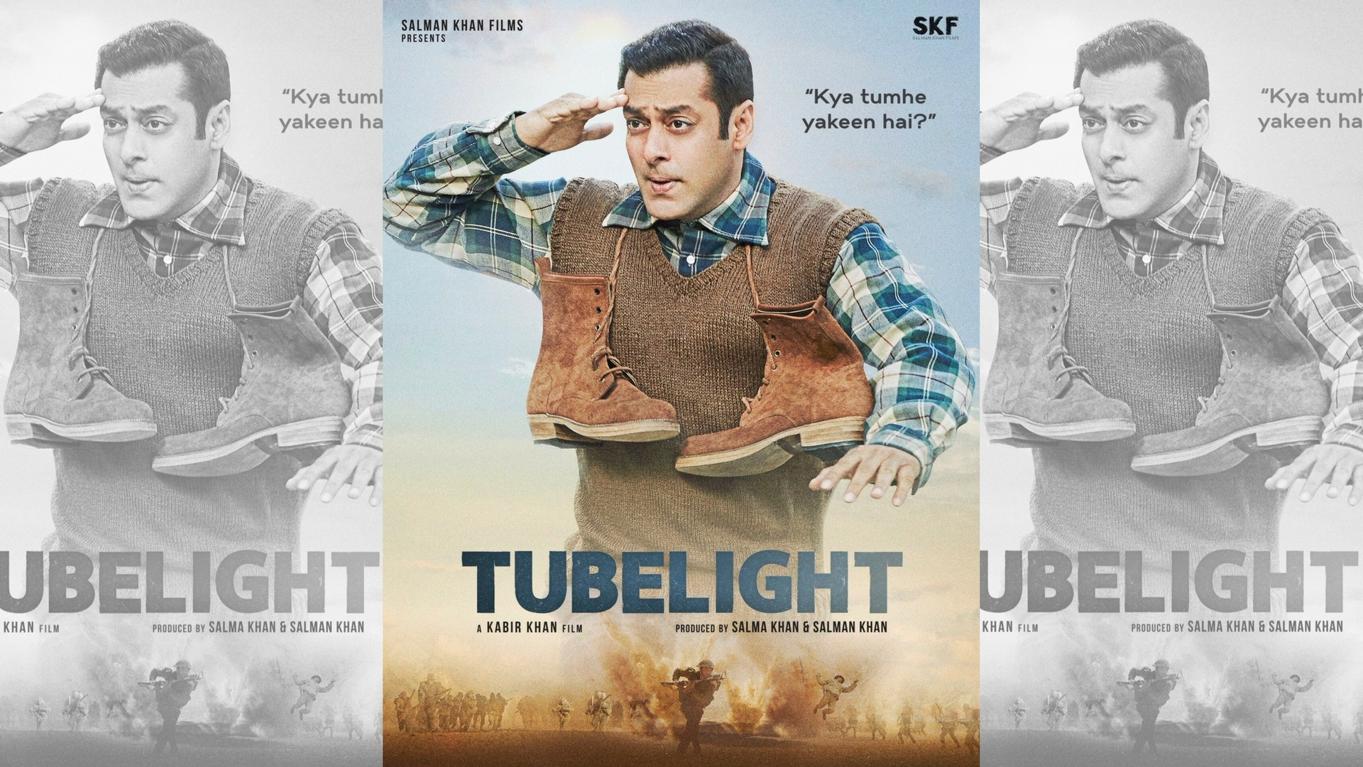 Salman Khan Makes An Appearance On The New Tubelight Poster - The Quint-4206