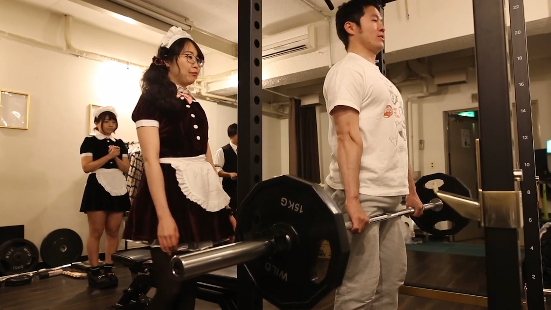 Maid In Tokyo This Gym Adds A Frilly Twist To Your -4516