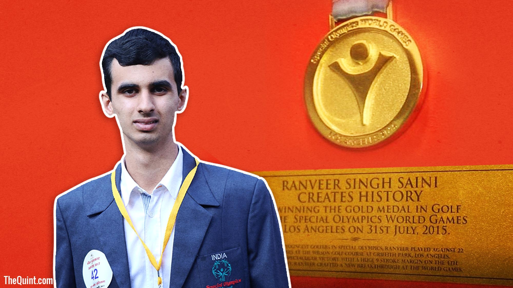 Ranveer sainis journey from autism to gold the quint altavistaventures Choice Image