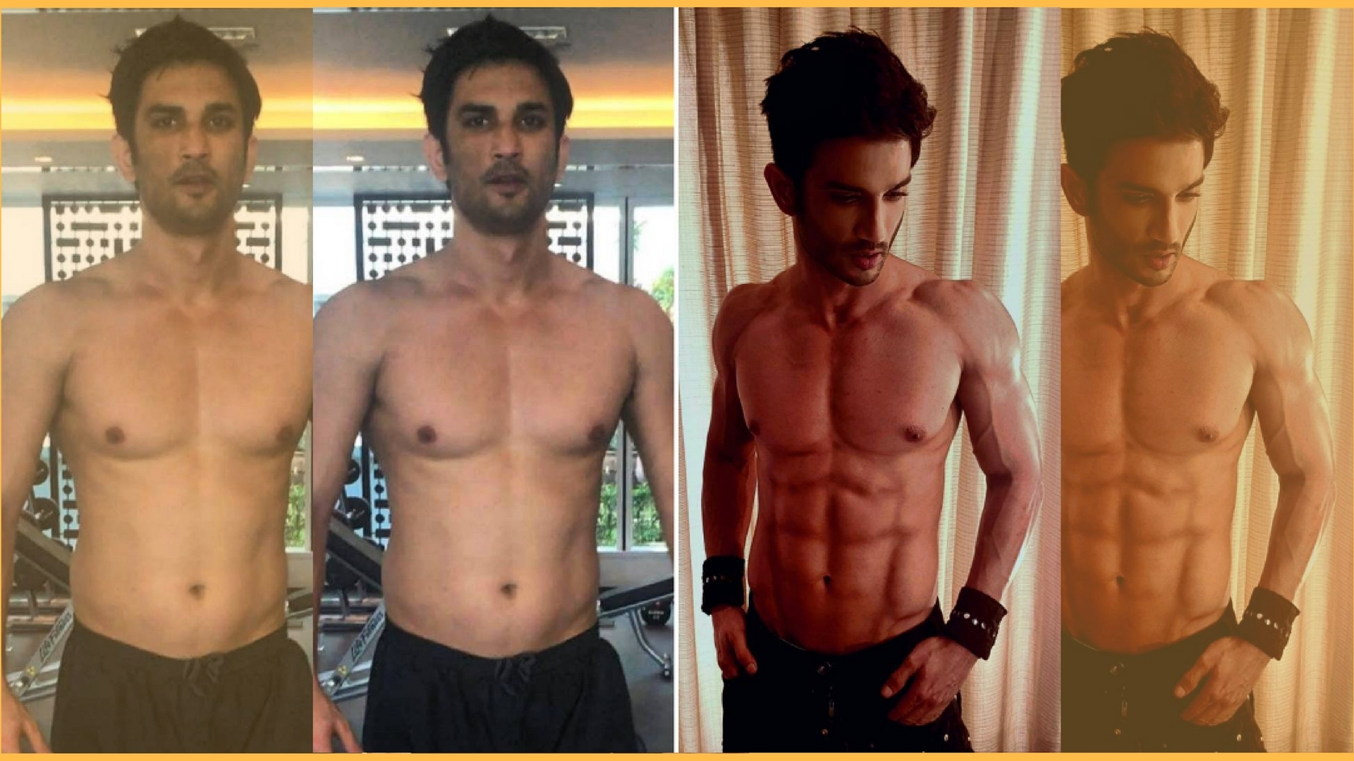 In Pics: How Sushant Singh Rajput Got His 8 Pack - The Quint