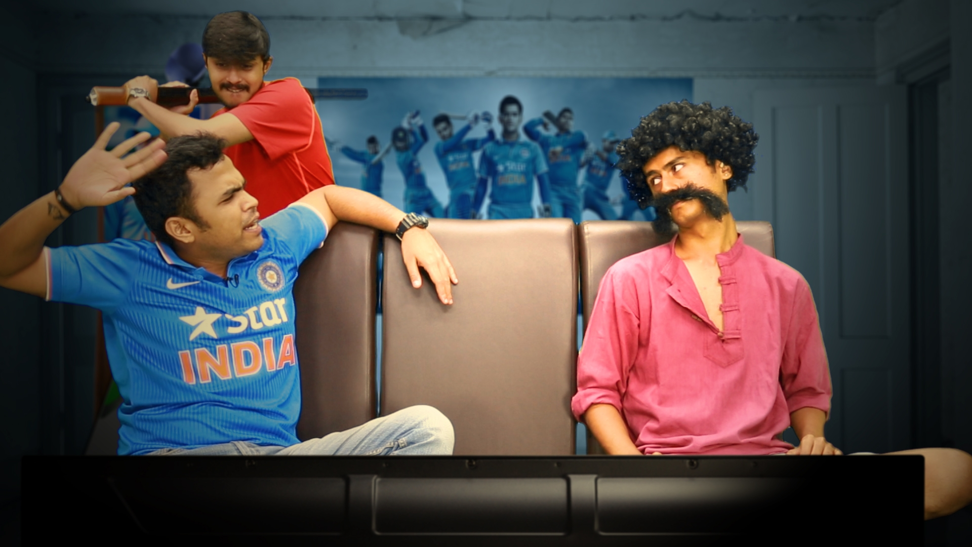 Put on your jersey as team India begins its campaign. (Puneet Bhatia/The Quint)