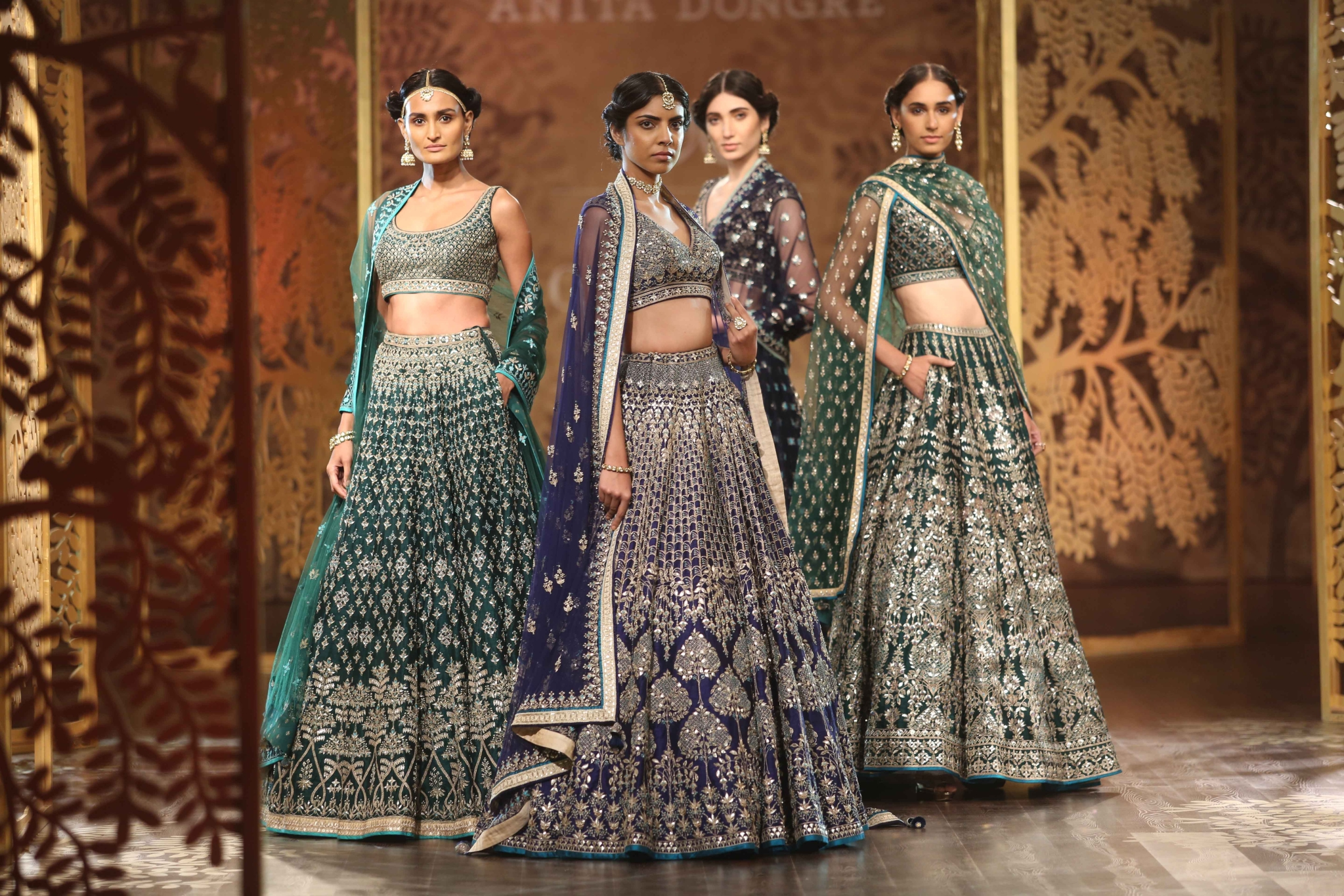 Anita Dongre Makes Couture Cool: Introduces Tulle Skirt, Obi Belts ...