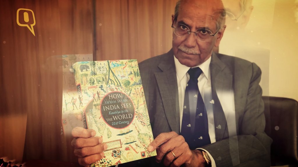 shyam saran gives us the inside scoop on how india sees the world the quint