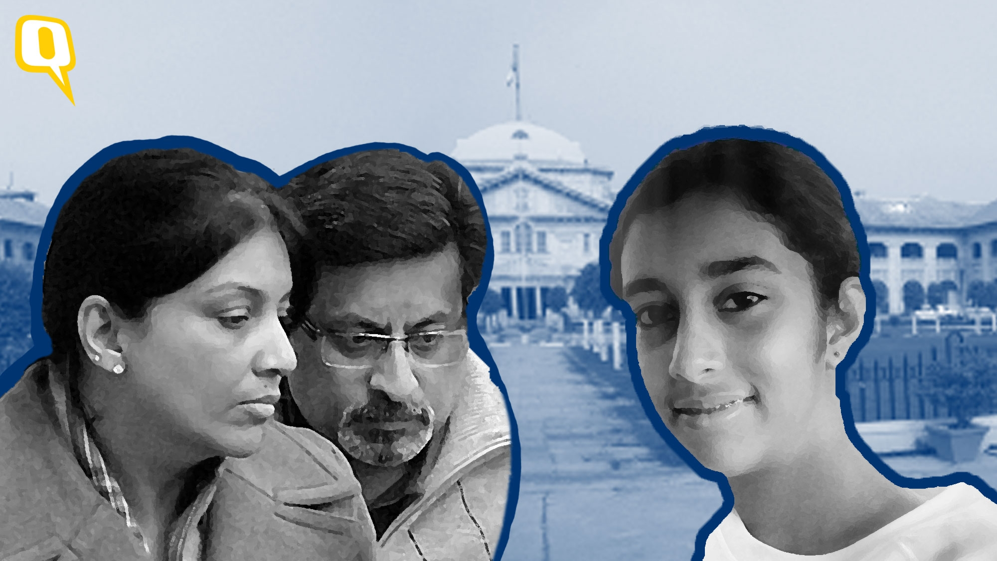 The Allahabad High Court acquitted both Rajesh and Nupur Talwar in the double murder of their daughter Aarushi, and their domestic help, Hemraj. <i>(Photo: <b>The Quint</b>)</i>