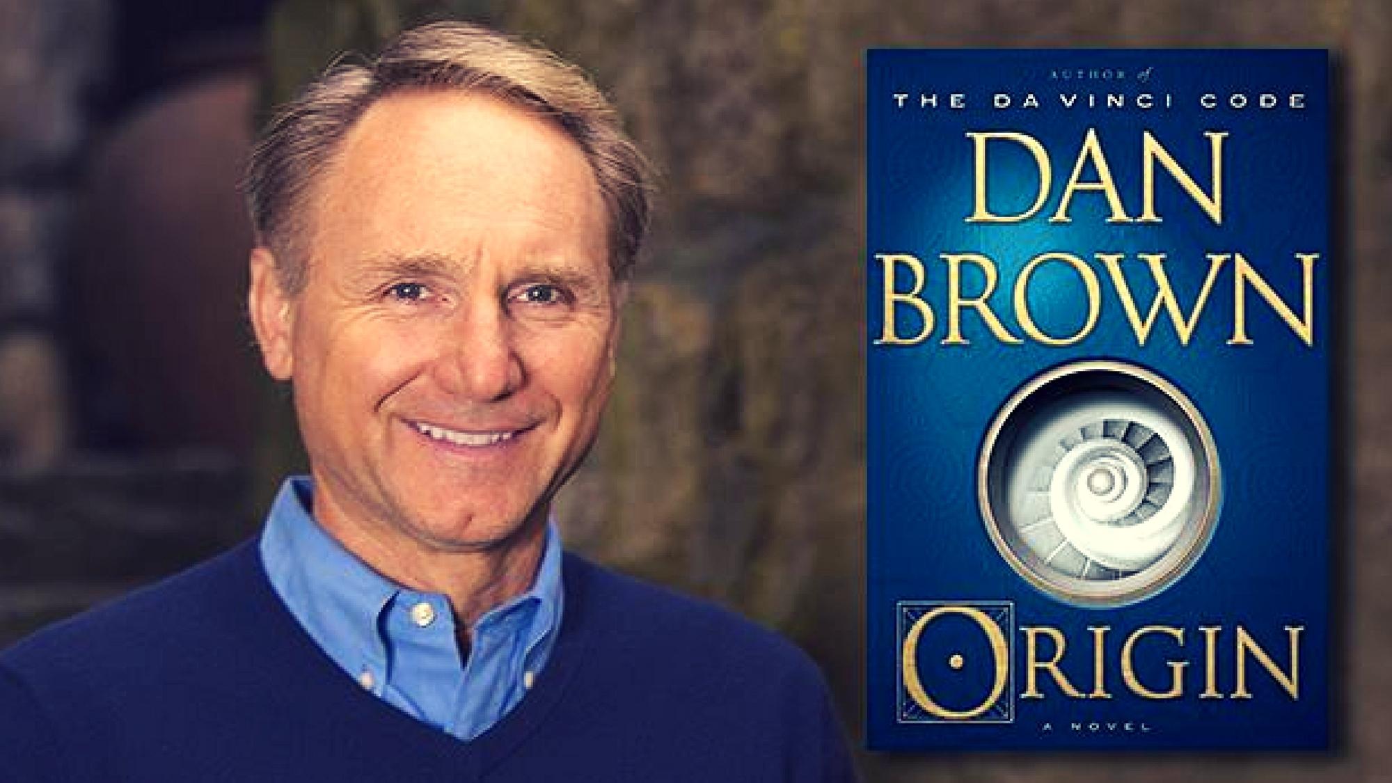 Book review dan brown origin for Dans brown