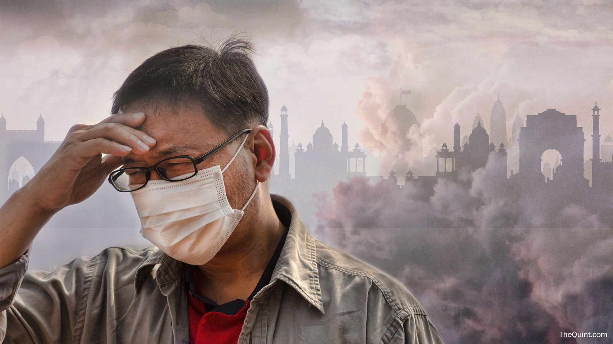 What Are You Breathing Today? Air Pollution Rises Across India