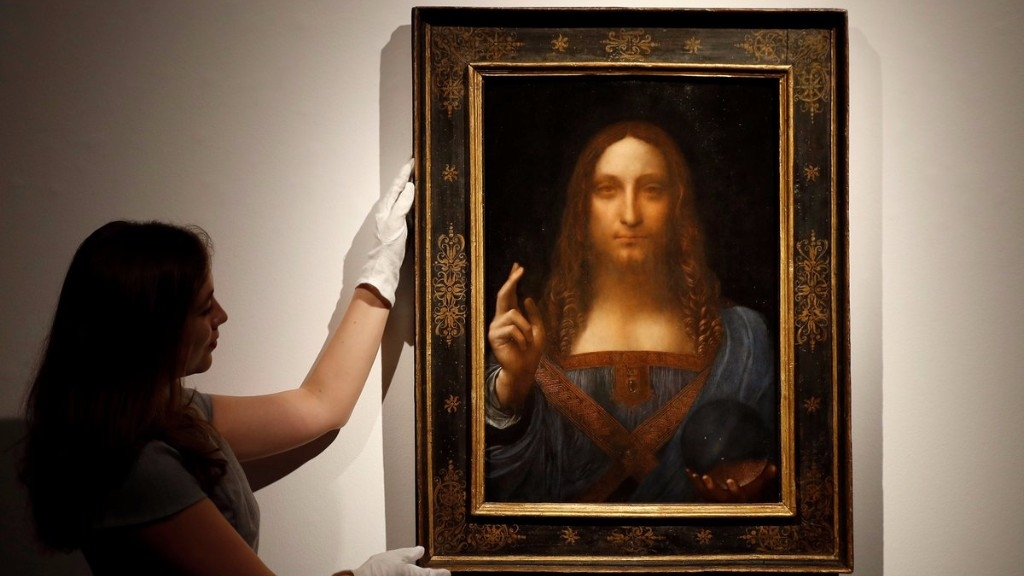 saudi prince is mystery buyer of 450 m da vinci jesus