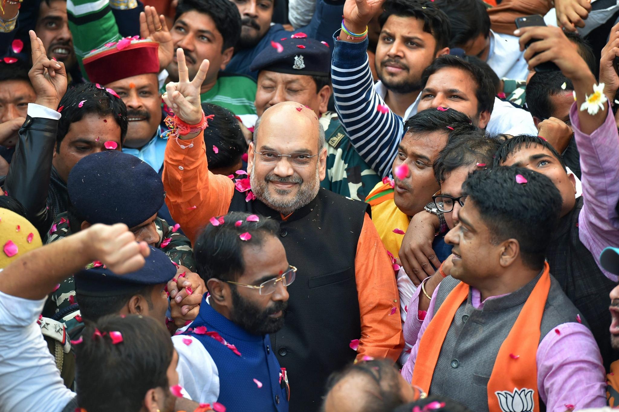 People of Gujarat Rejected Congress' Politics, Says Amit ...