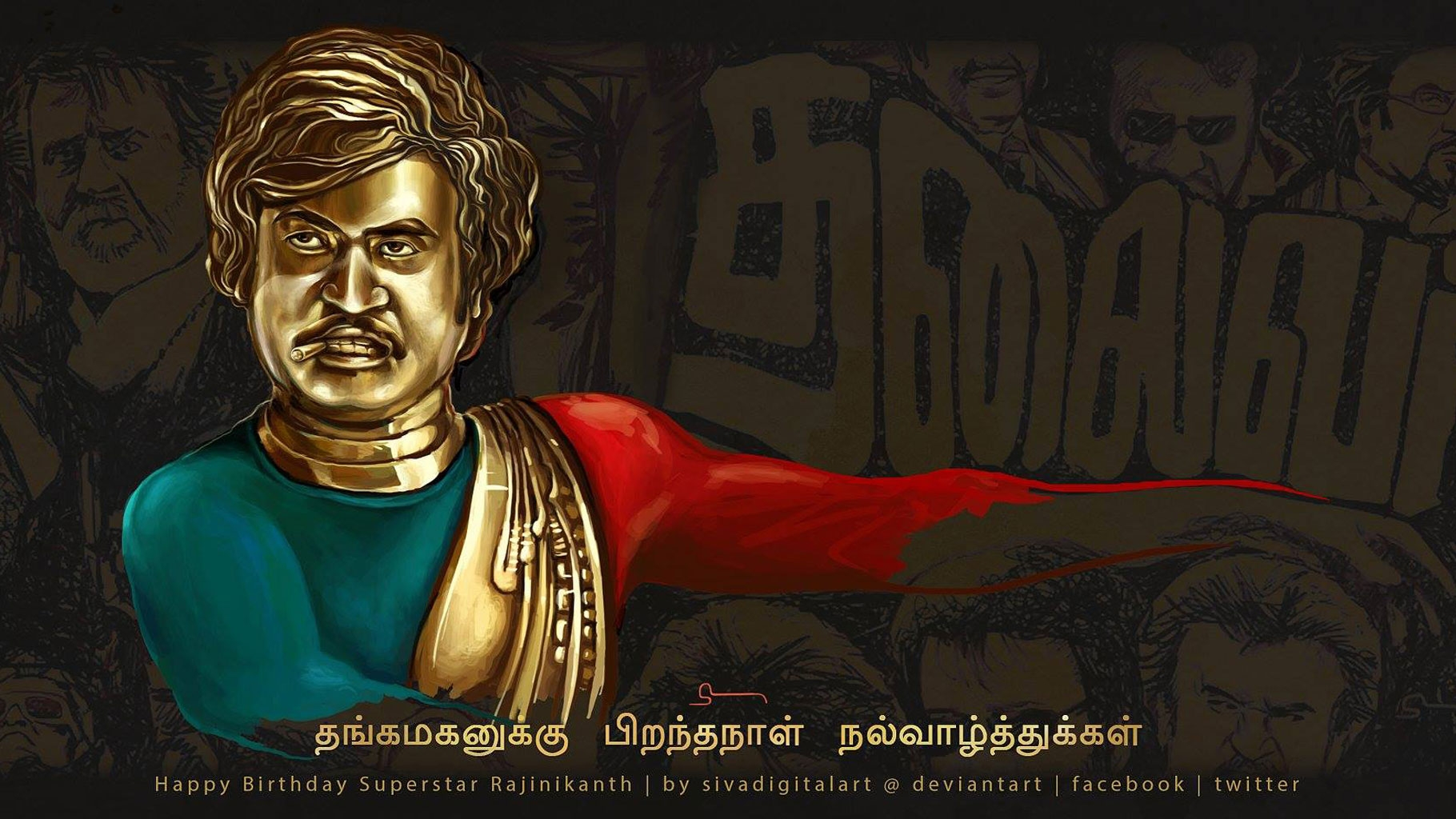 Rajinikanth 68th Birthday Thalaiva Wishes Thalaiva On His B Day