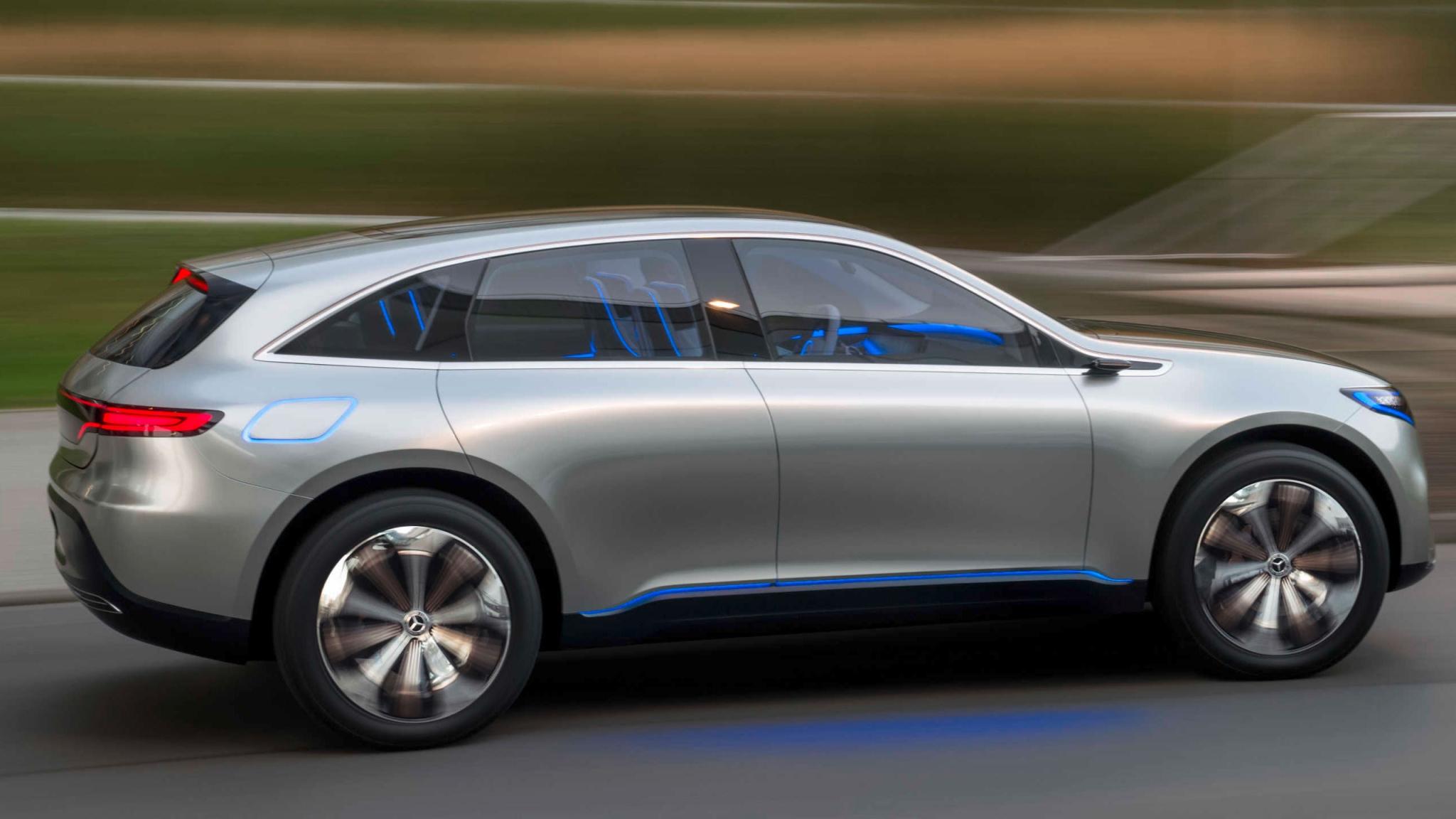 Mercedes benz concept eq electric mobility with luxury for Mercedes benz concept eq