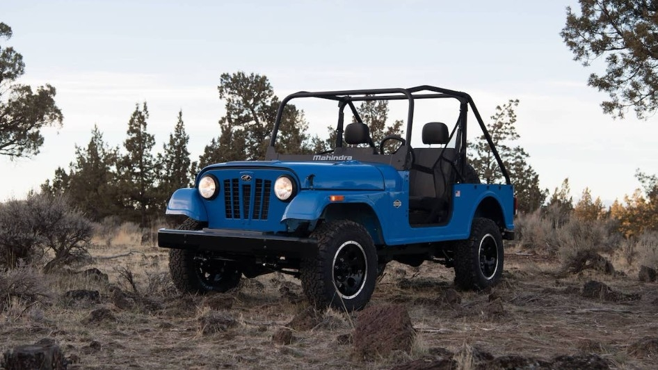 Mahindra Roxor Off Road Utility Vehicle Unveiled In The Us