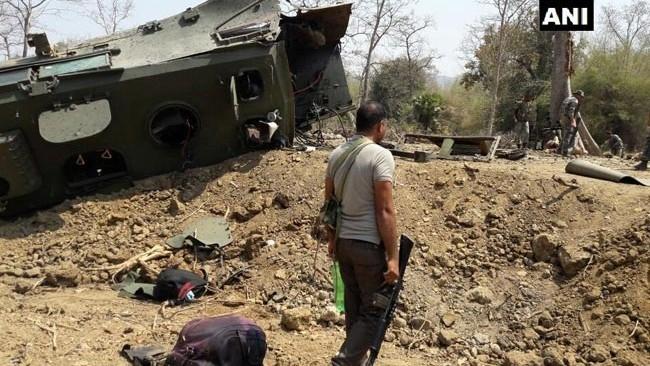 6 Blasts Allegedly by Maoists Rock Chhattisgarh, Day Before Polls
