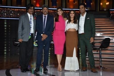 Mumbai: Former India skipper Kapil Dev, sports anchors Archana Vijaya,  Samir Kochhar,
