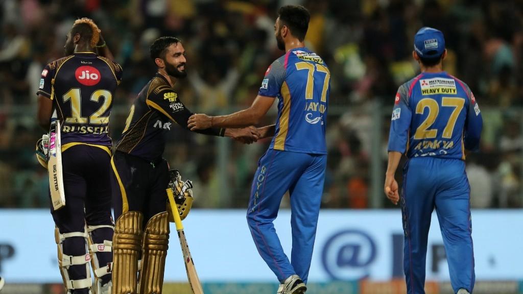 IPL 2018: Kolkata Knight Riders End Royals' Three-match