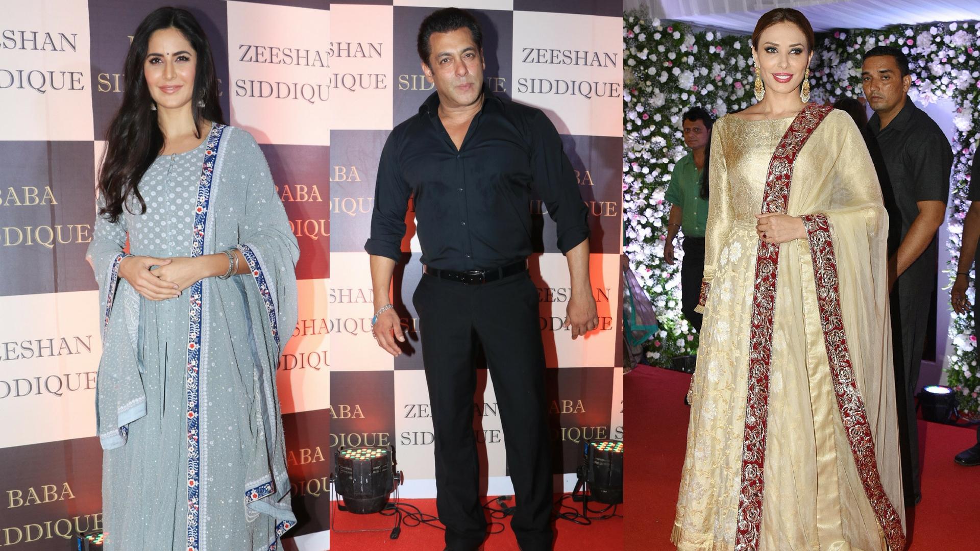 Salman Khan With Katrina And Iulia Vantur At Babas Iftar Party - The Quint-1217