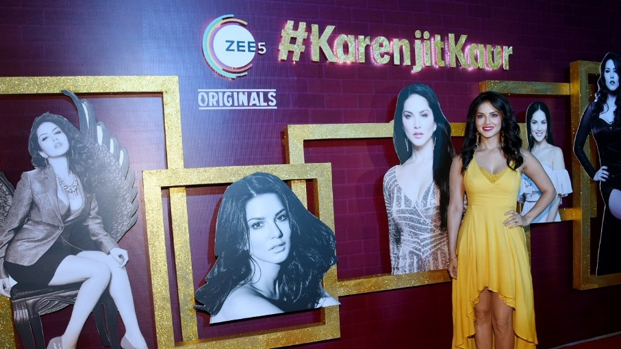 in pics sunny leone unveils her true story �karenjit kaur