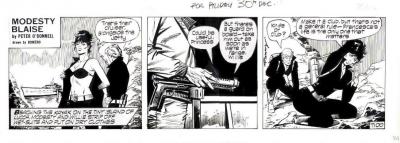 Modesty blais comic strip