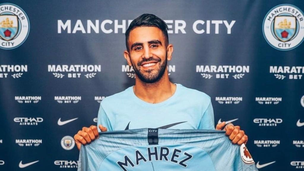 Riyad Mahrez Transfer To Manchester City For £60 Million