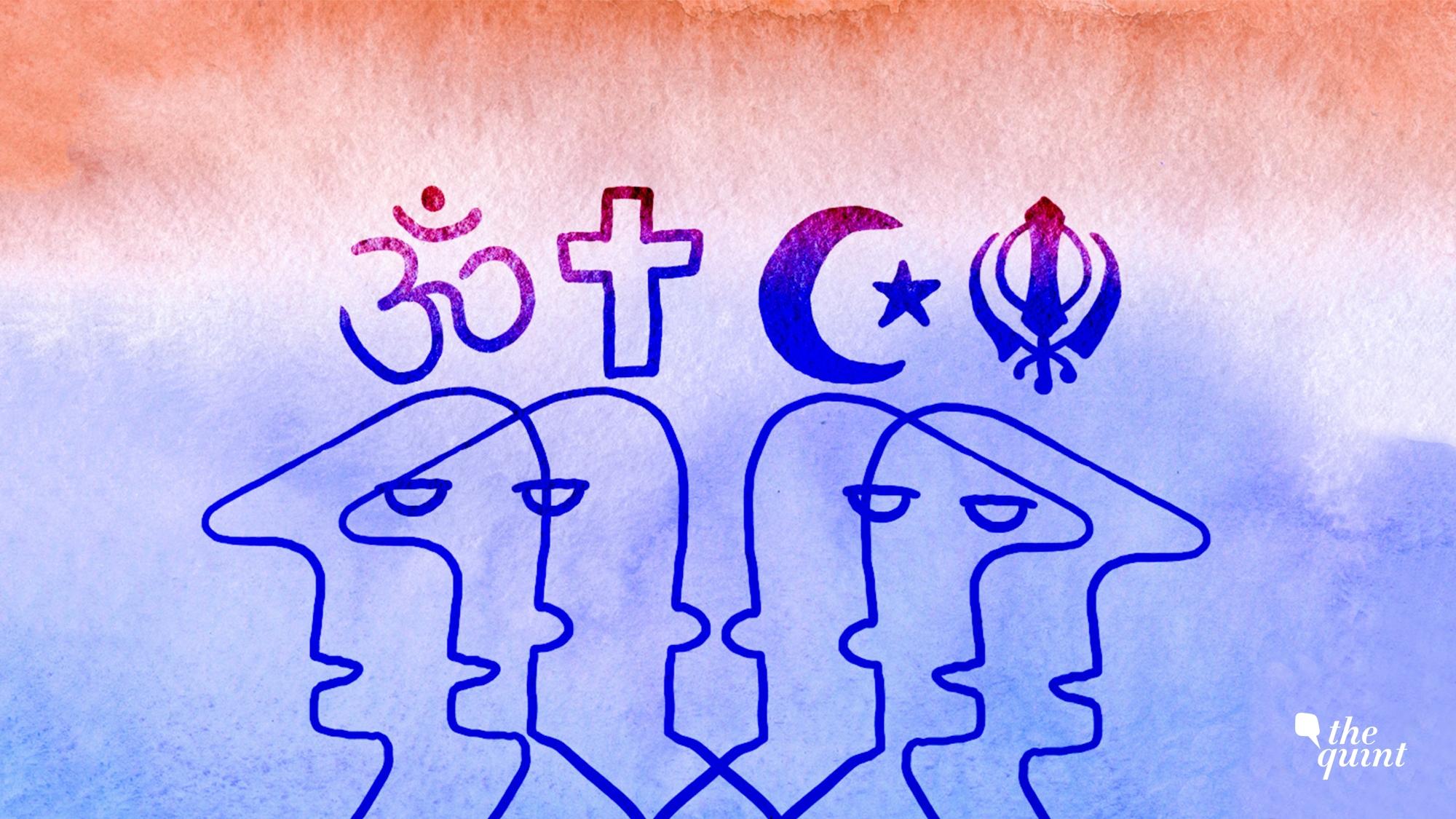 Heterosexual marriage cross