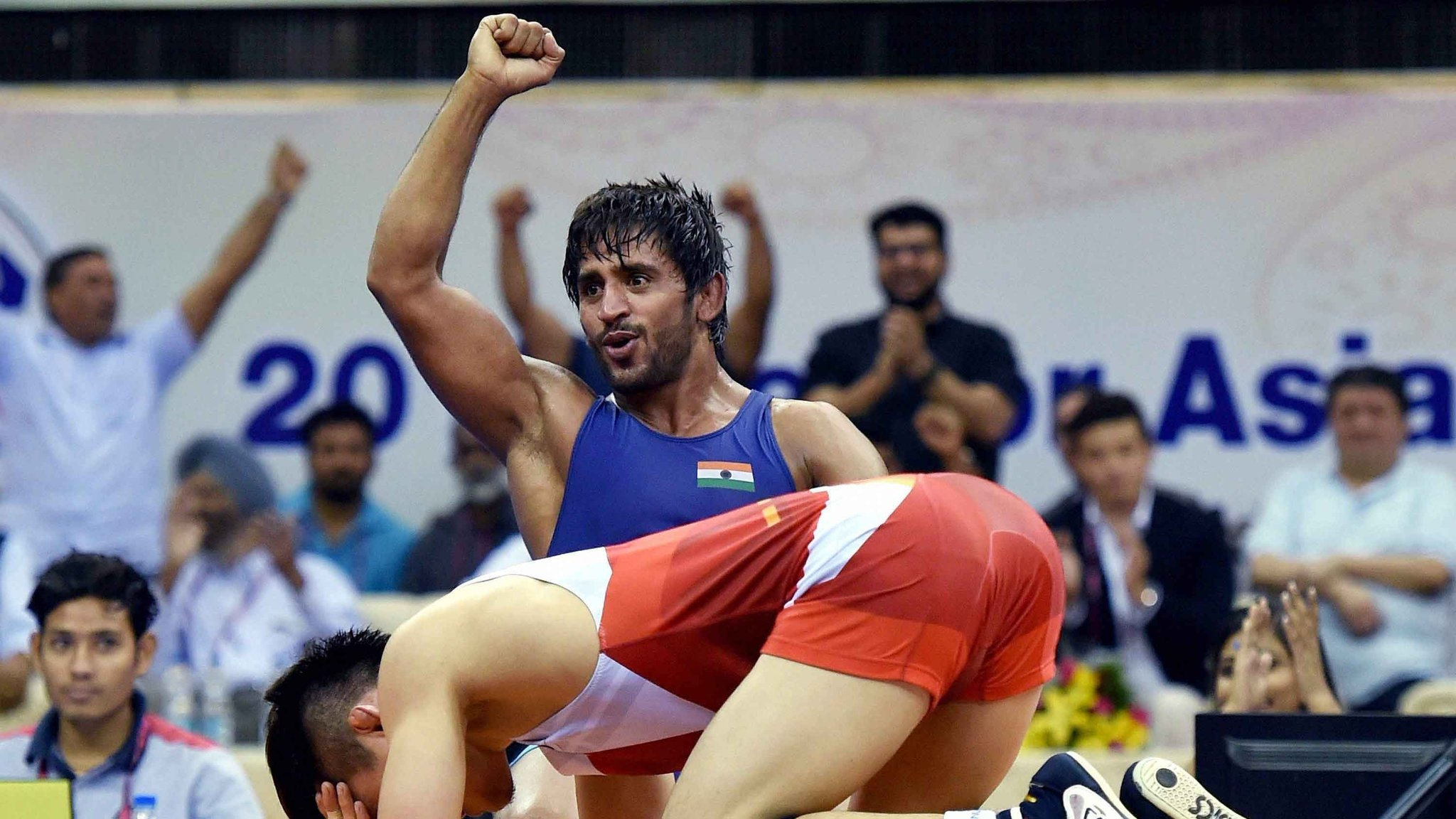Day 1, Asian Games 2018: Bajrang Punia Wins India's First Gold