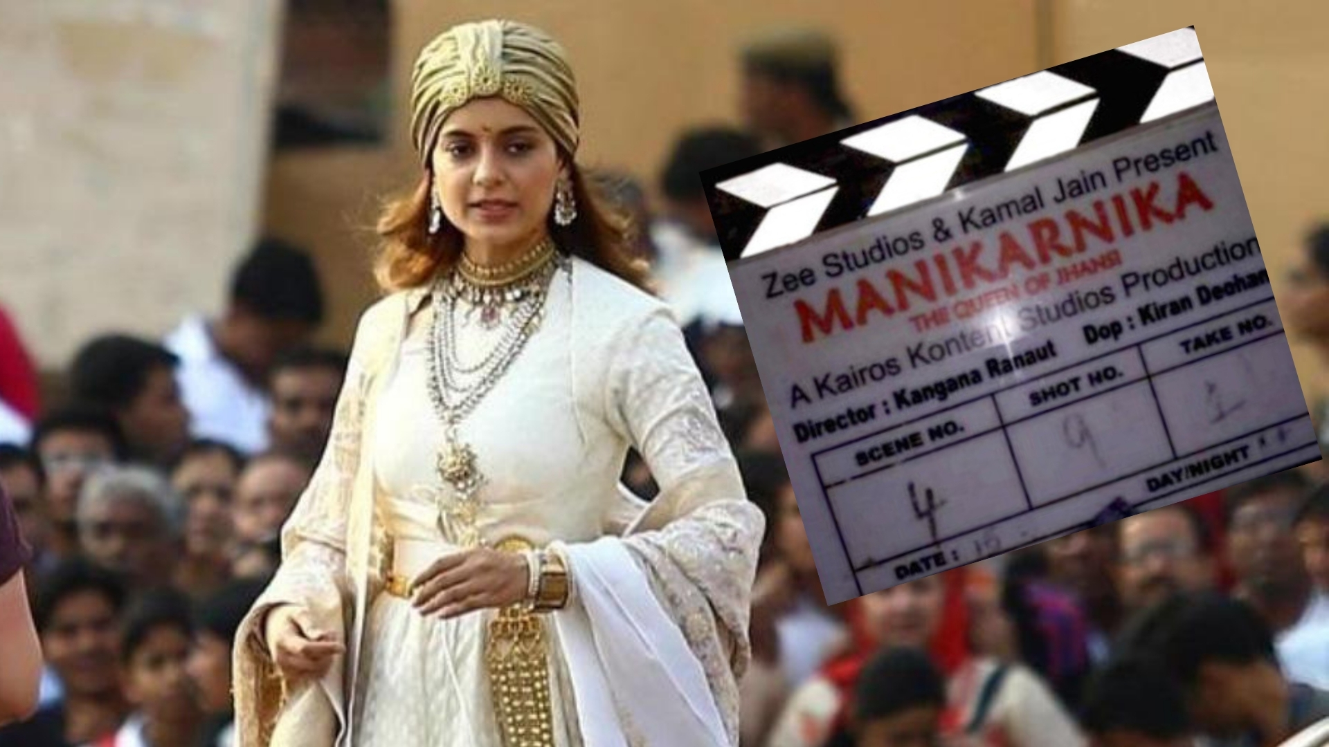 Kangana's 'Manikarnika' Faces Trouble Over Non-Payment of Dues