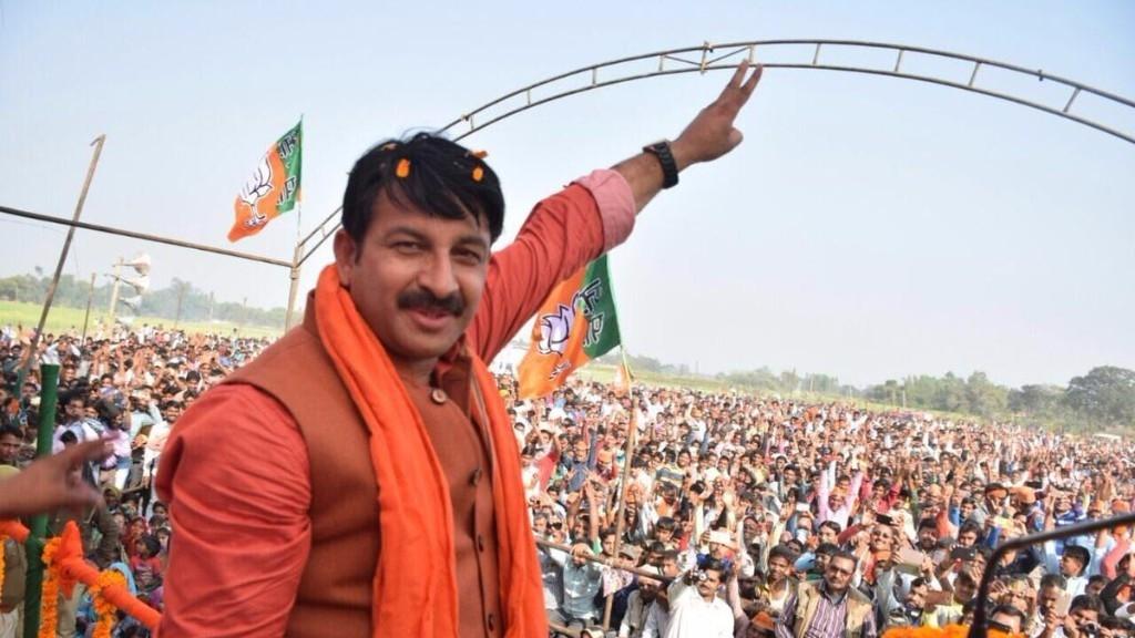 Illegal Immigrants Responsible for 80% Delhi Crimes: Manoj Tiwari
