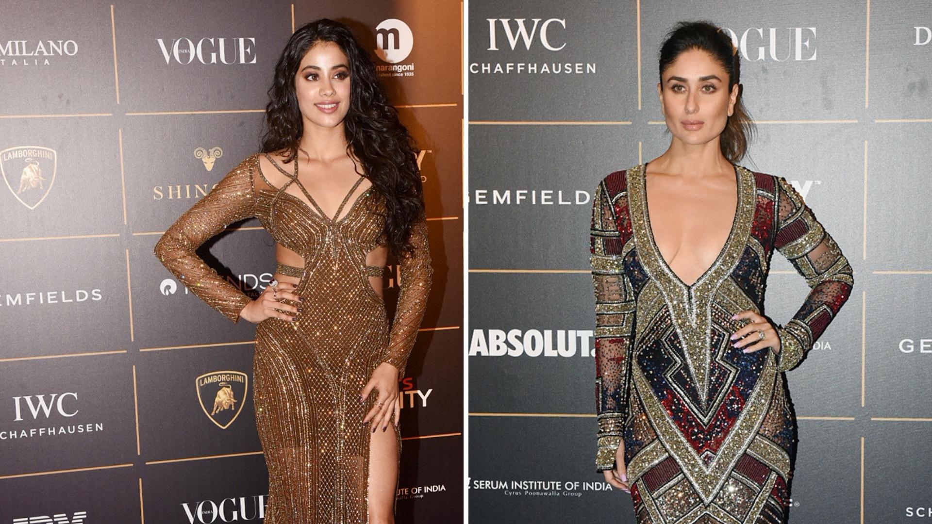 In Pics: Alia Bhatt, Janhvi and Kareena Kapoor at Vogue Awards