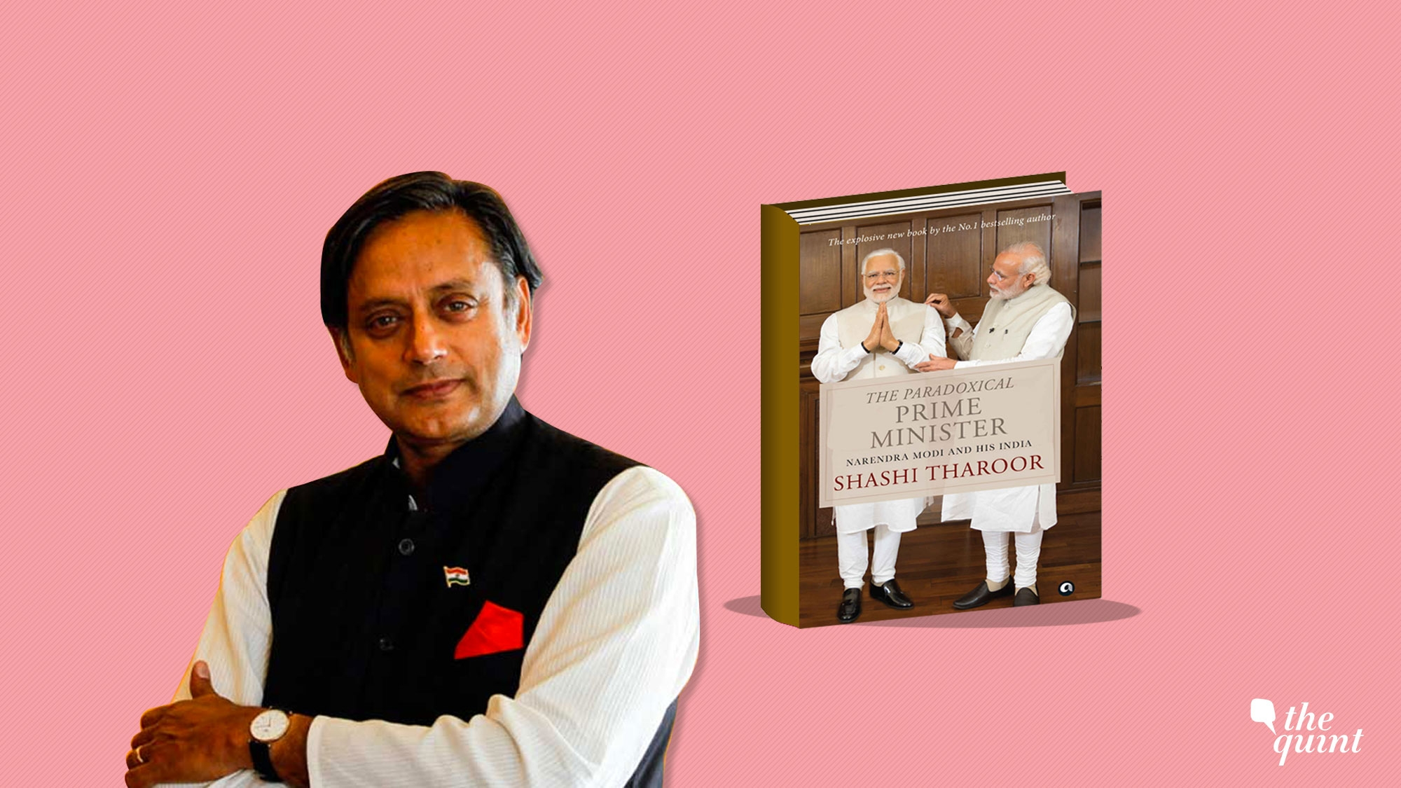 Shashi Tharoor Book Launch Tharoor On Modi You May Be A Great