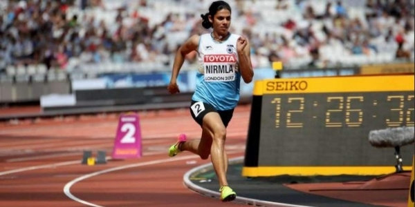Sprinter Nirmla Sheoran Banned for 4 Years for Doping